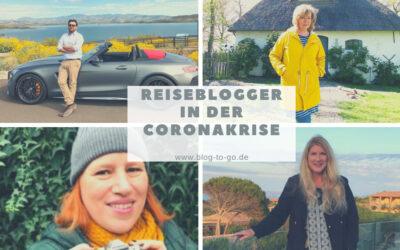 Wie gehen Reiseblogger mit der Coronakrise um? Ein Überblick